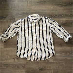 brandy melville stripped shirt